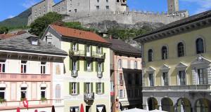 Bellinzone, Suisse. Auteur et Copyright Marco Ramerini..