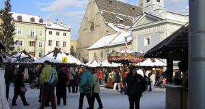 Marché de Noël à Bressanone (Brixen), Trentin-Haut-Adige, Italie. Auteur et Copyright Liliana Ramerini..