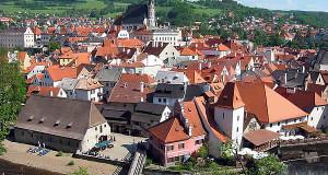 Český Krumlov, République Tchèque. Auteur Rubel. Licenza Creative Commons Attribuzione-Condividi allo stesso modo